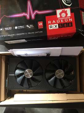 Sapphire AMD RX 580 8gb Overclock Gaming Graphic Card