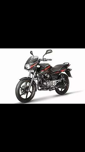 Brand new Bajaj Pulsar 125 neon at discounted price