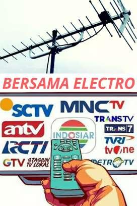 Agen tukang pasang antena tv murah rawalumbu