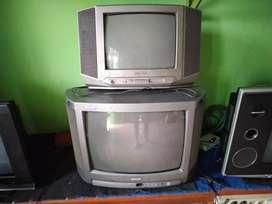 tv sharp dan sanyo