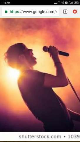 Karaoke singing tuition at your home