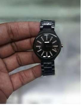Ladies Black Ceramic Watch