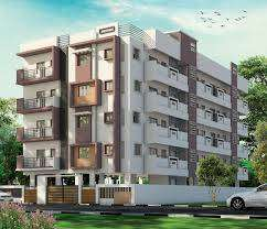 9 Years Old Apartment 2BHK Flats for sale in Lalitha Nagar,