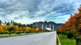 A 1 kanal Best Location Margalla Hills Facing Live Able House Availabl