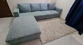 5 seater, used sofa