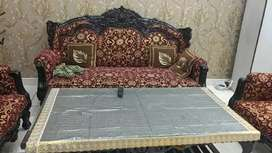 Wood carving sofa the best Royal class 5 seater