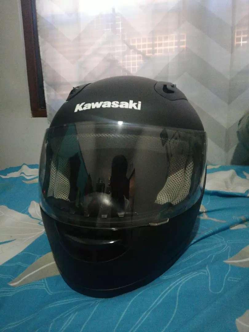 Dijual helm kawasaki ninja baru 0