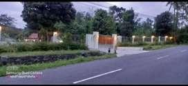 Di jual cepat tanah  SHM Pekarangan di pinggir jakal KM 21,5 Sleman