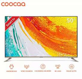 LED Smart tv coocaa 50inch New