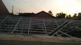 Terpasang rangka atap bajaringan bergaransi