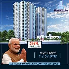2 BHK Flats in Gurgaon | Pareena Om Apartments
