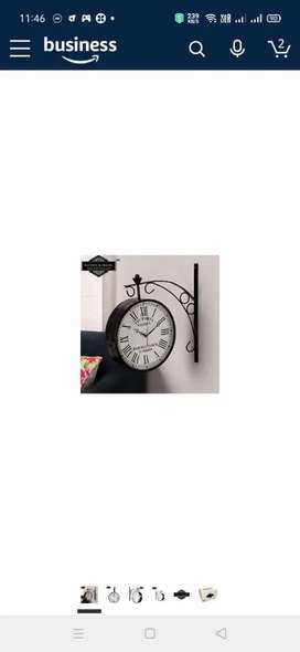 dubal side antiq wall clock