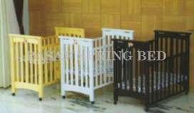 FreOngkir Ranjang Bayi Tempat Tidur Baby Box Crib HakariBedHK033Jesica