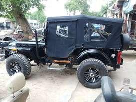 Shri Bala ji modifiers open Willys Hunter modified jeeps