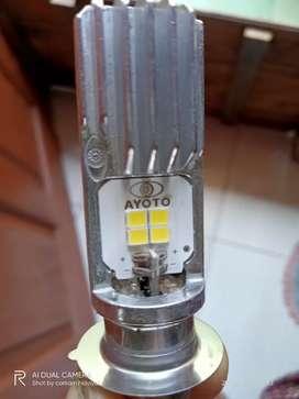 Lampu led depan matic/bebek