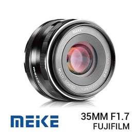 New / Baru Lensa Meike 35mm f1.7 for Fujifilm