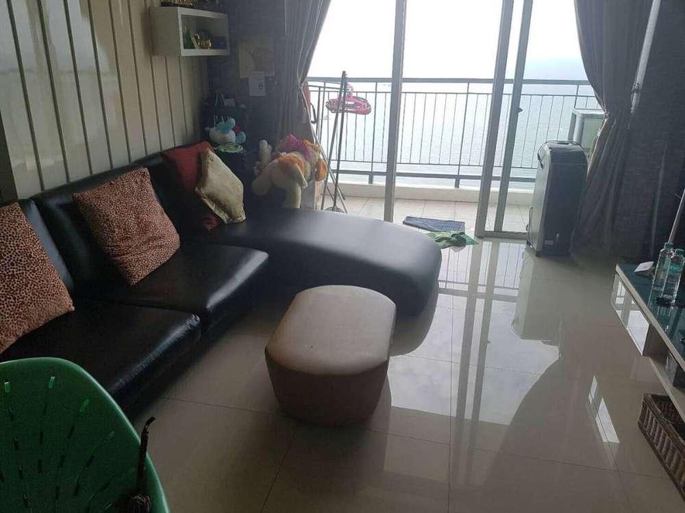 sale apartemen ancol mansion 1br lantai atas view laut fully furnished