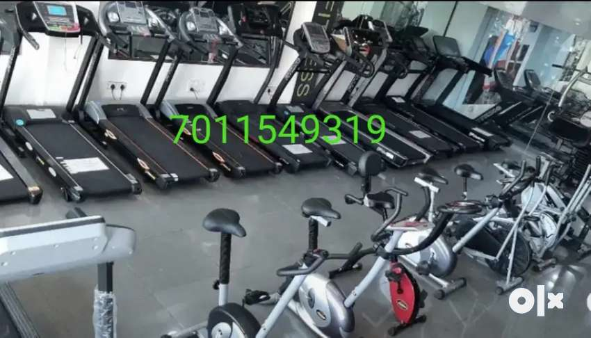 Exercise cycles and  treadmill