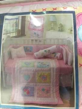 Baby Bedding Set (Bumper set box bayi) cover box bayi