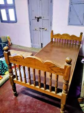 Wooden Single Cot for sales