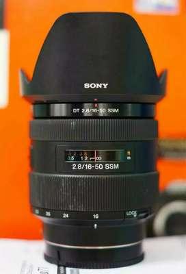 Lensa Sony Amount 16 50mm f2.8 SSM