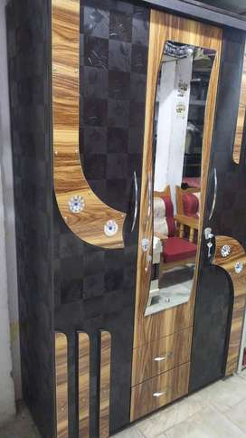 wooden Almira / Wardrobe