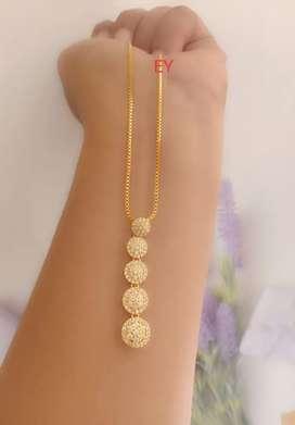 Kalung mewah bahan xuping lapis emas