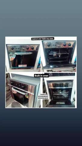 Stone gas Built in oven for baking and grilling