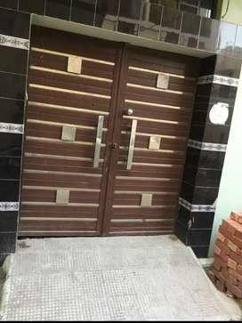 Iron plus steel solid gate used for one year