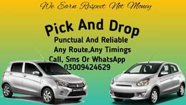 Pick and Drop-Punctual & Reliable