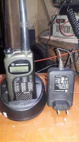 Motorola gp 2000 lengkap cas