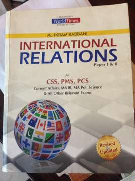 International Relations (CSS)