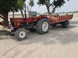 Tractor fest 640 2018 will all instruments for cultivation