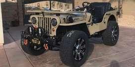 Modified landi jeep