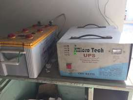 Local made 12v( 1000) ups in good condition
