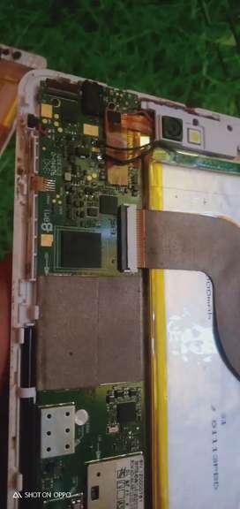 Tab Advan Vndroid T1J .. retak touchscreen