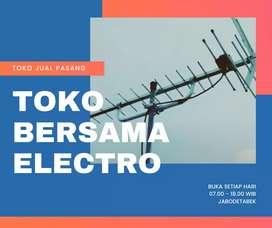 Toko Pasang Antena TV Digital Bekasi || Model Antena TV PF HDU