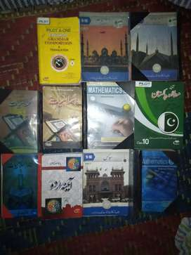9 the 10 th Arts books for sale Rs 600/ Baghbanpura