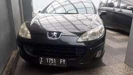 Peugeot 407 AT Mewah Murah Siap Jalan