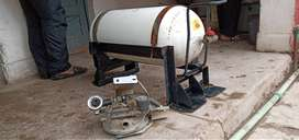 CNG Cylinder with stand and kit