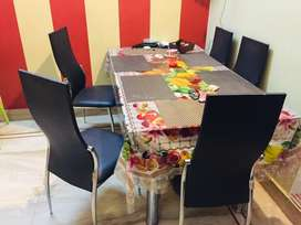 Godrej dining table in new condition.