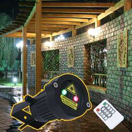 Lampu Proyektor Taman Outdoor Starry Effect with Remote ControlKD-IP65