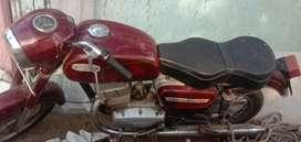 Yezdi ..250 vintage bike fully maintained completely working