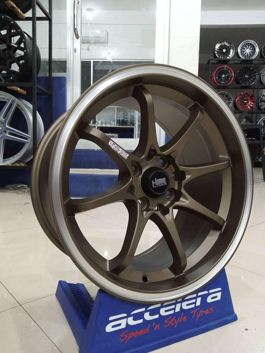 Veleg mobil racing R16 HSR Hiroshima Ring 16 Warna Bronze Avanza Xenia