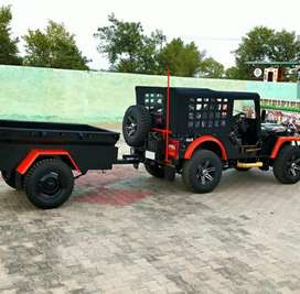 Rahul jeep modified-All jeep coluer Available