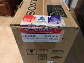 Sony 75 inch X80G - Screen Damaged