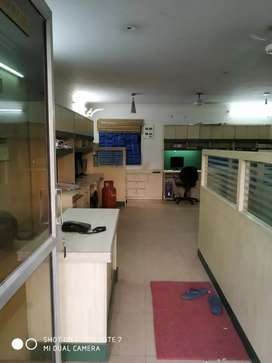 Fully furnished office is available on lease