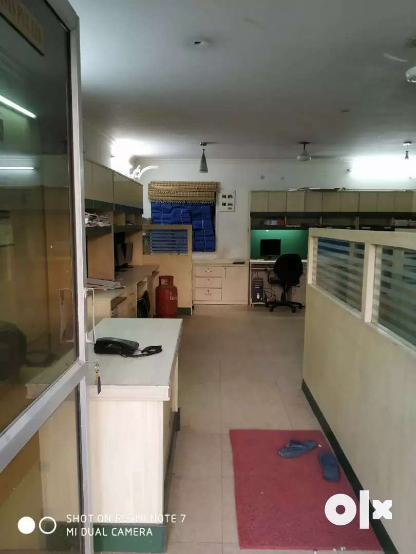 Fully furnished office is available on lease 0