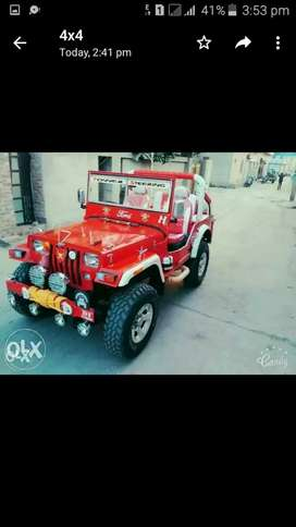 Jeep's modified thar delivery