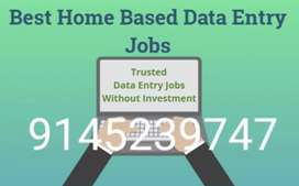 Wanted  Part time home based data entry workers for genuine work!!